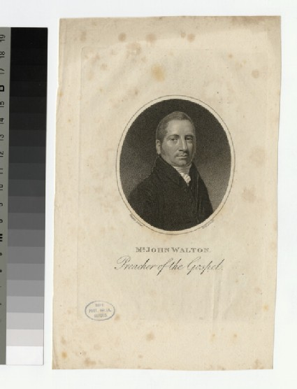 Portrait of J. Walton