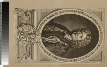 Portrait of Revd Dr J. Wallis