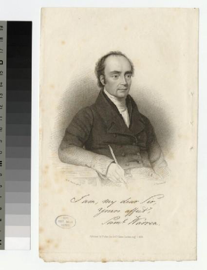 Portrait of S. Warren