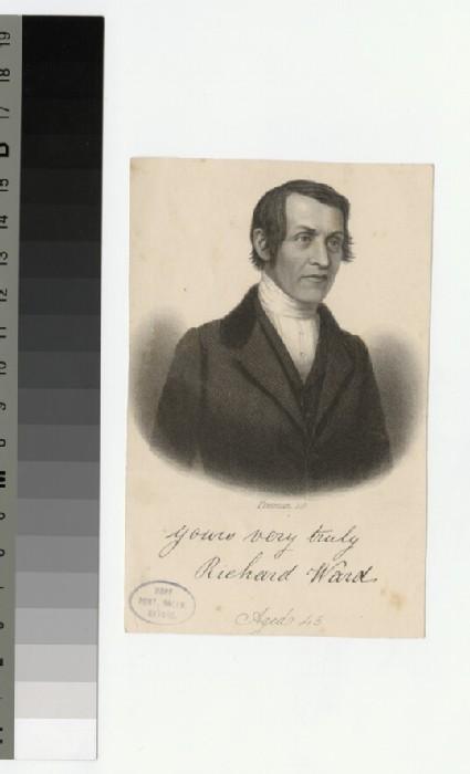 Portrait of R. Ward