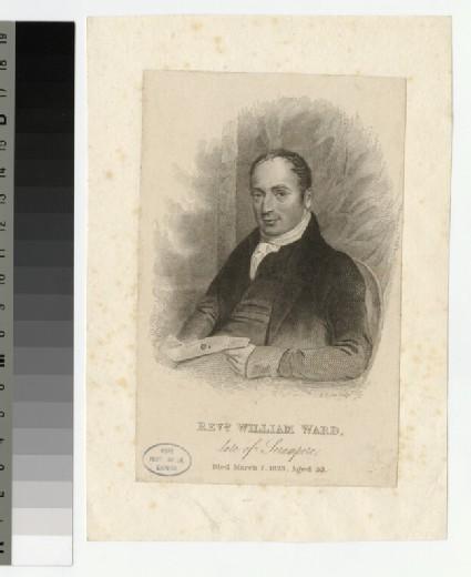 Portrait of W. Ward