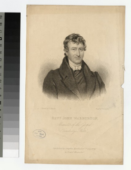 Portrait of J. Warburton