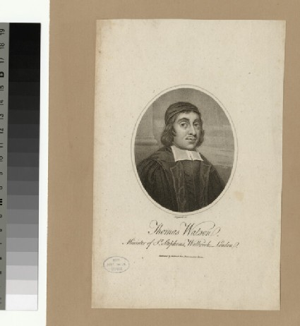 Portrait of Revd T. Watson