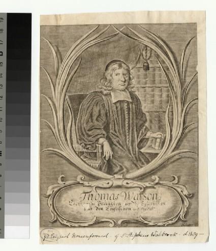 Portrait of T. Watson