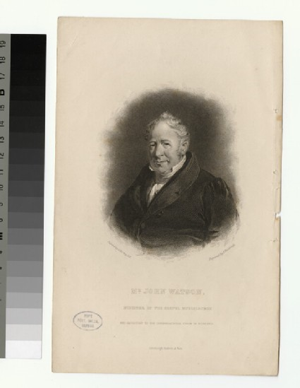 Portrait of J. Watson