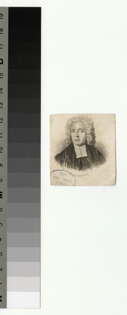 Portrait of Revd DR D. Waterland