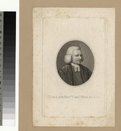 Portrait of C. Wesley
