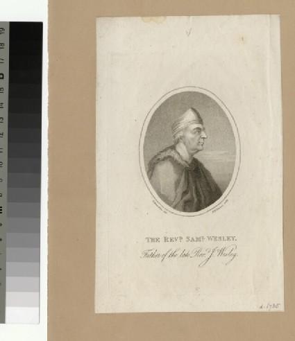 Portrait of Samuel Wesley the Elder