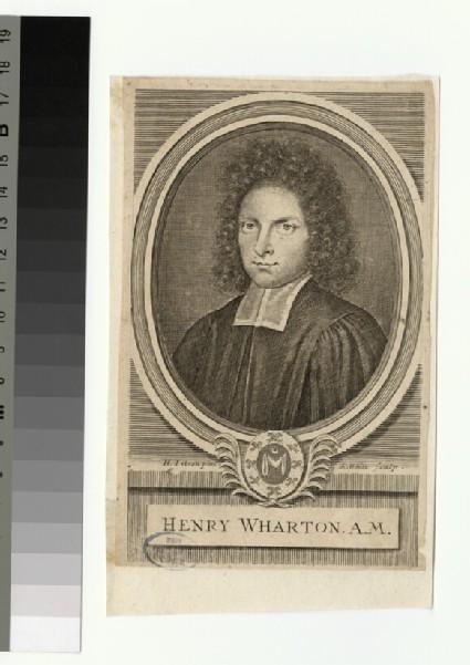 Portrait of Revd H. Wharton