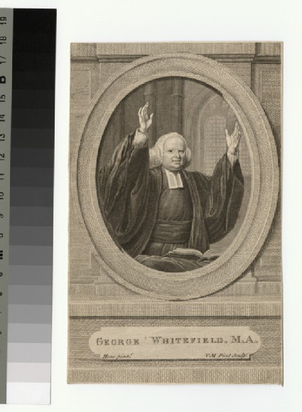 Portrait of G. Whitefield