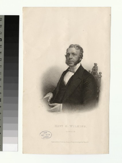 Portrait of G. Wilkins