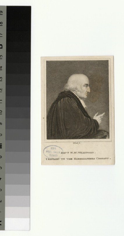 Portrait of W. W. Wilkinson