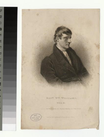 Portrait of W. Williams