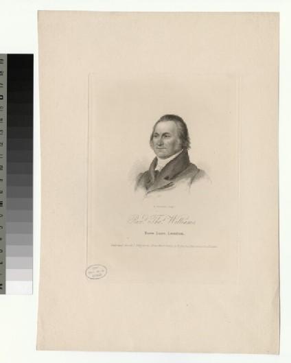 Portrait of T. Williams