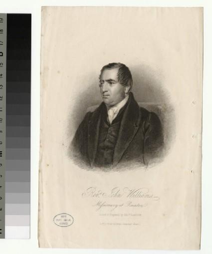 Portrait of J. Williams