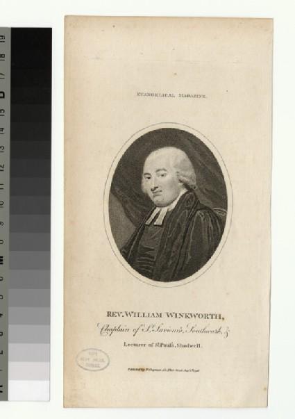 Portrait of W. Winkworth