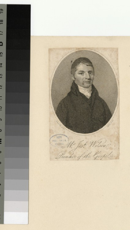 Portrait of J. Wilson