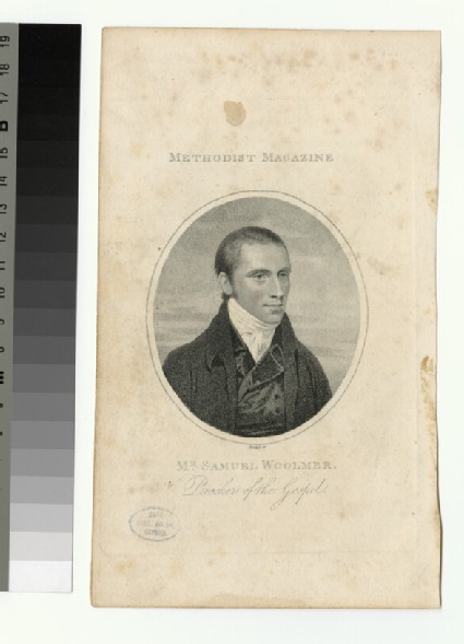 Portrait of Samuel Woolmer