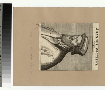Portrait of J. Wyclif