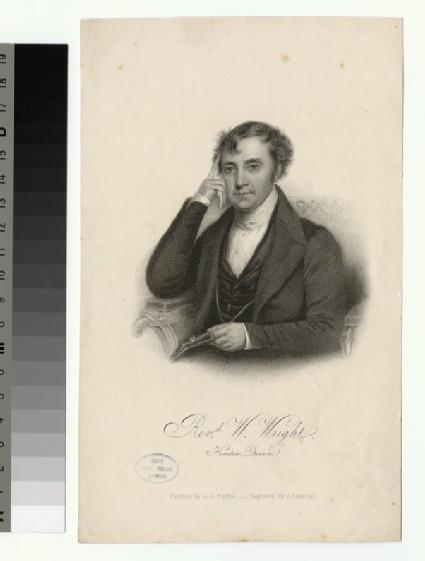 Portrait of W. Wright
