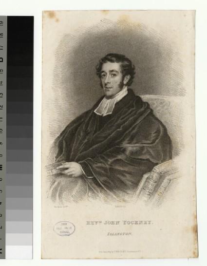 Portrait of J. Yockney