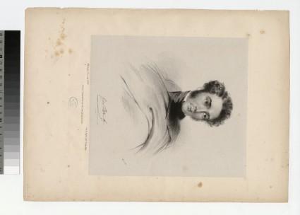 Portrait of G. Back