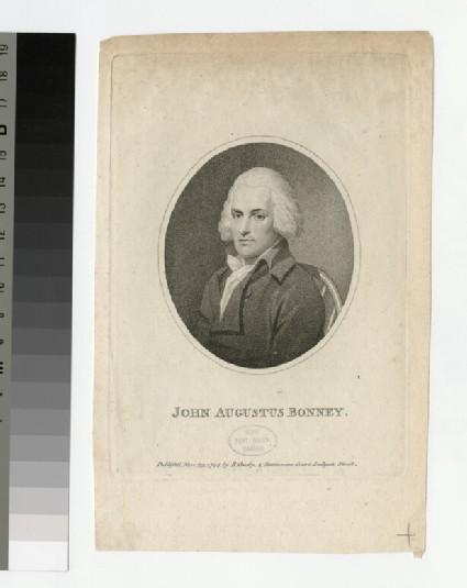 Portrait of J. A. Bonney