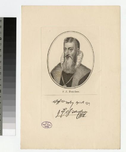Portrait of F. J. Boucher