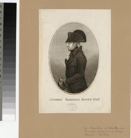 Portrait of A. R. Bowes