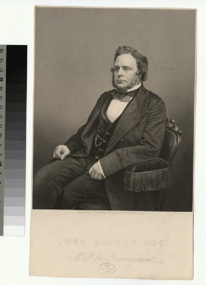 Portrait of John Bright