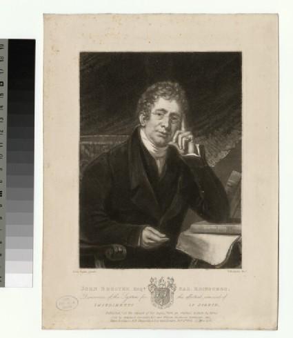 Portrait of John Broster