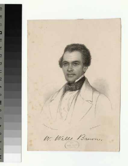 Portrait of W. Wills Brown