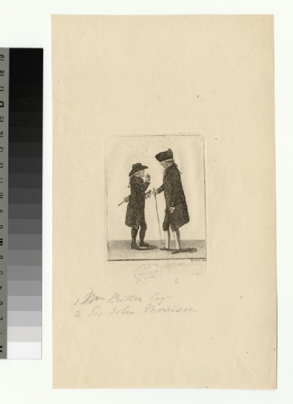 Portrait of W. Butler and J. Morrison