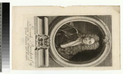 Portrait of Josiah Burchett