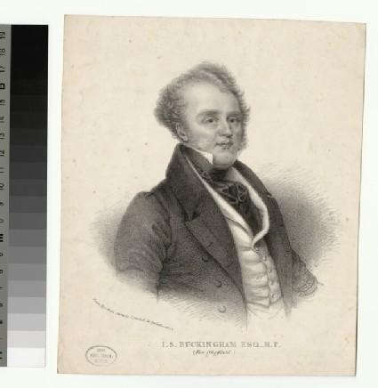 Portrait of James Silk Buckingham
