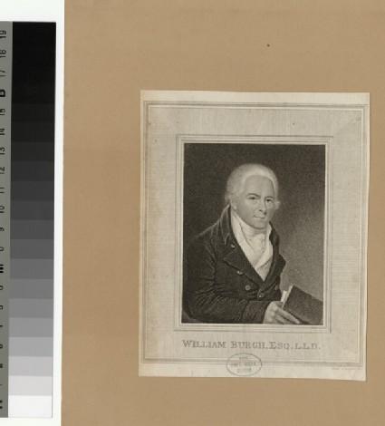 Portrait of William Burgh