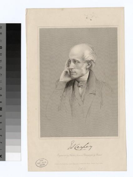 Portrait of E. S. Cayley