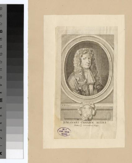 Portrait of J. Chardin