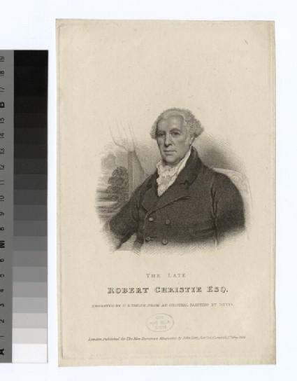 Portrait of R. Christie