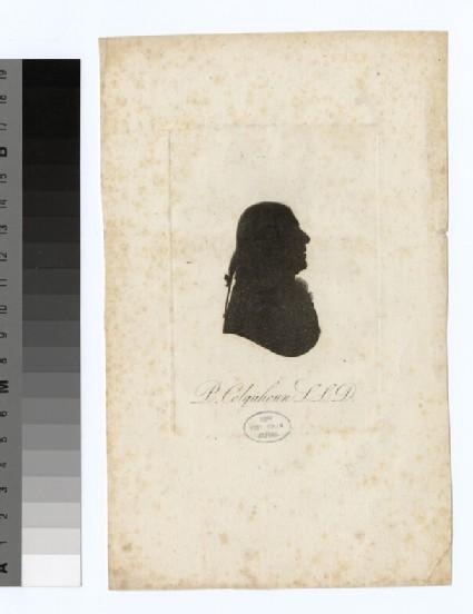 Portrait of P. Colquhoun