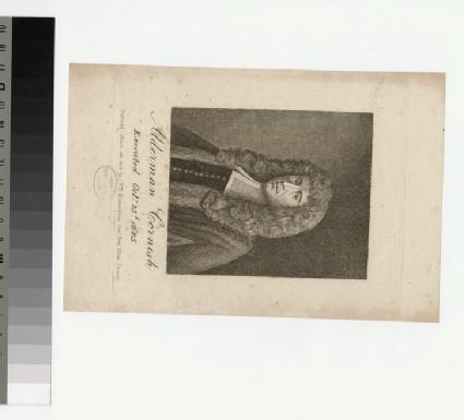 Portrait of Ald Cornish