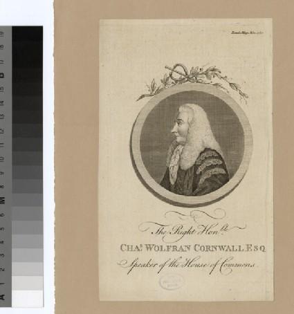 Portrait of C. W. Cornwall
