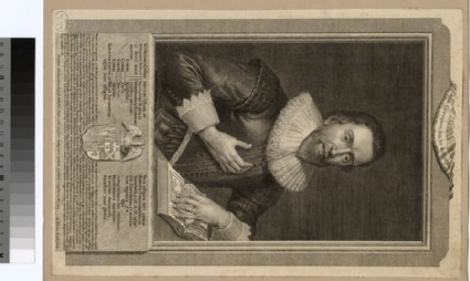 Portrait of R. Cotton-Bruce