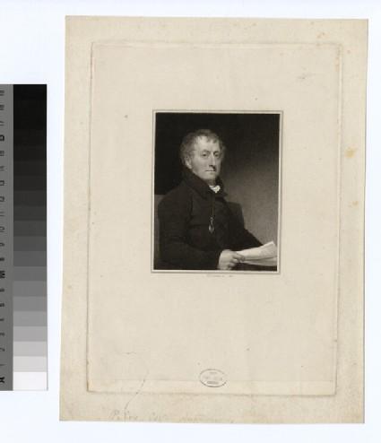 Portrait of P. Coxe