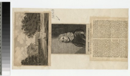 Portrait of R. Cromwell
