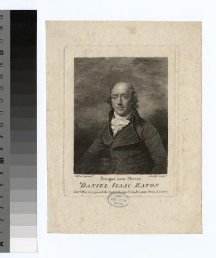 Portrait of D. I. Eaton