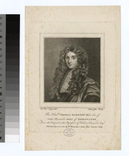 Portrait of T. Egerton