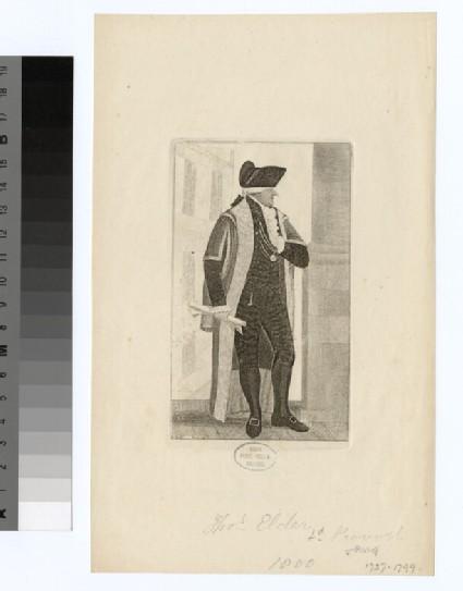 Portrait of T. Elder