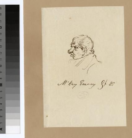 Portrait of M. Emery