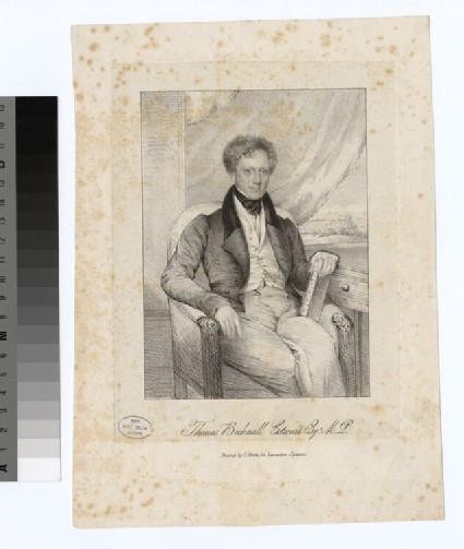 Portrait of T. B. Estcourt
